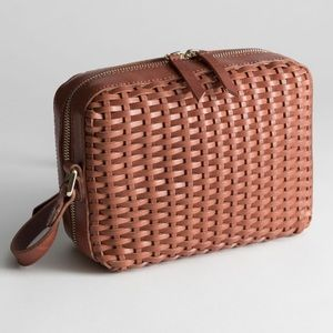 NWT & Other Stories • Basket Weave Crossbag